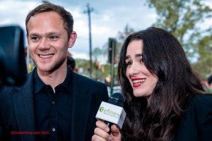 Interviewed Joseph Cross, actor and producer. | Audrey Tommassini actress and producer