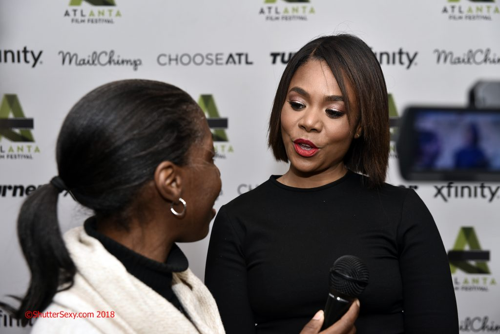 Interviewed Regina Hall: actress