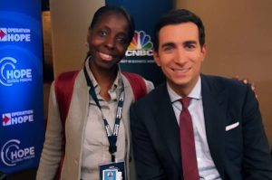 Met Andrew Ross Sorkin, journalist and author. He is a financial columnist for The New York Times and a co-anchor of CNBC's Squawk Box.