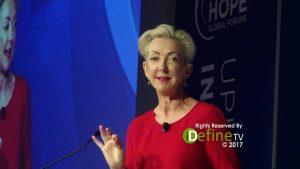 Jane Wurwand CEO of Dermalogica - HOPE Global Forums in 2017