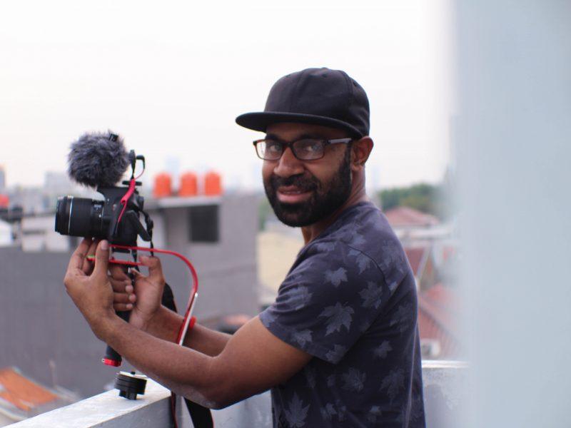 Passionate Male Videographer
